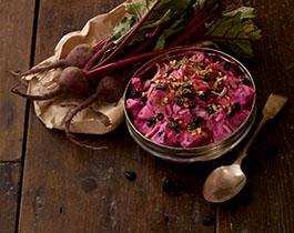 Beetroot Salad at Silk Road Café Dublin Ireland